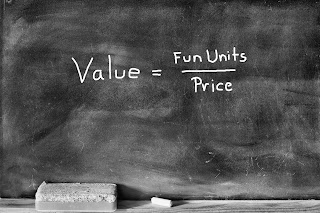 Fuzzy Fun Money Value Equation