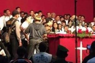 Polisi Bantah Ada Pembubaran Paksa Kebaktian di Sabuga
