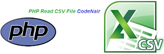 php read csv file