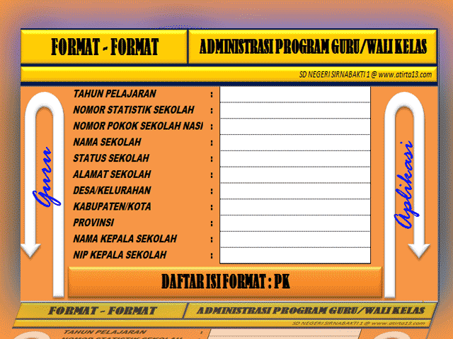 Download Aplikasi Program Administrasi Guru Kelas
