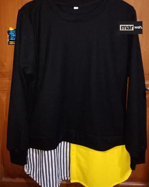 Marwah Top Yellow Stripe