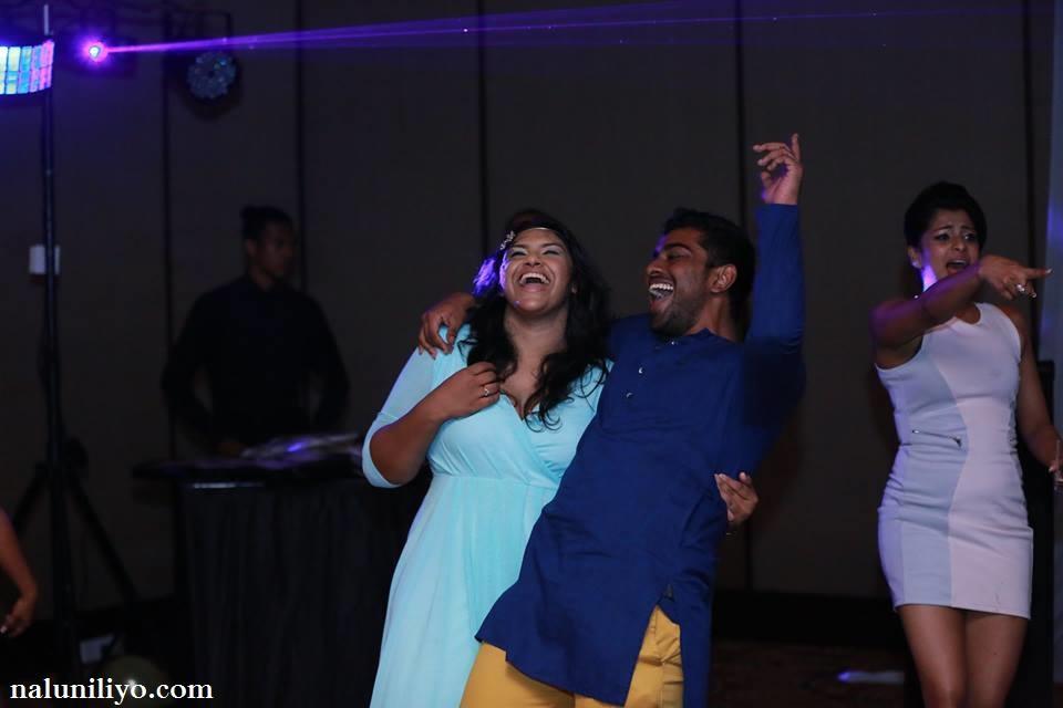 Nadeesha Hemamali mini skirt hot party
