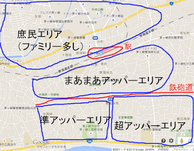 茅ヶ崎市 カースト マップ 地図 湘南