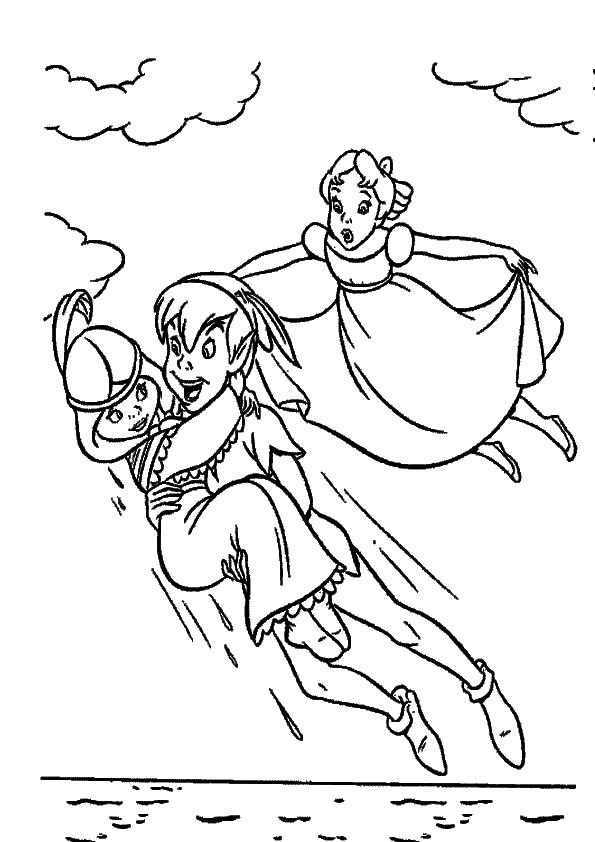 Imagenes De Peter Pan Para Colorear Imagenes Y Dibujos