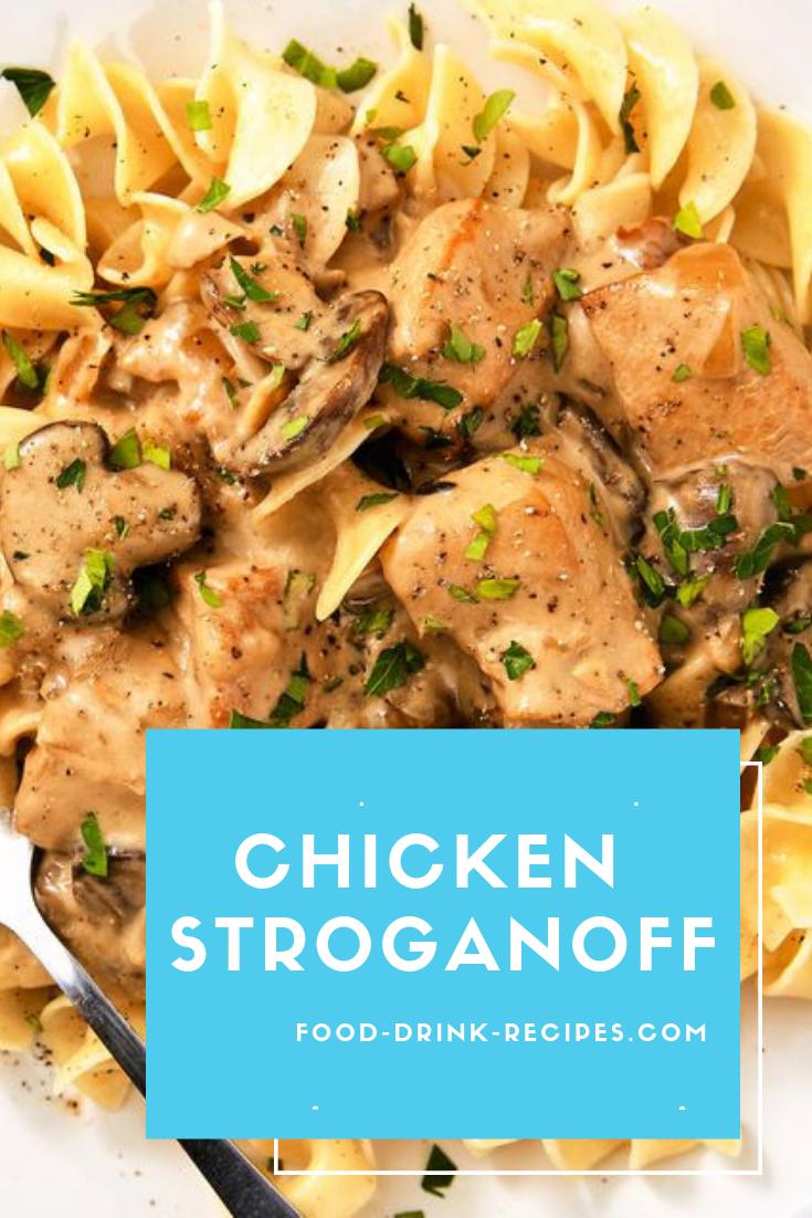 Chicken Stroganoff - food-drink-recipes.com