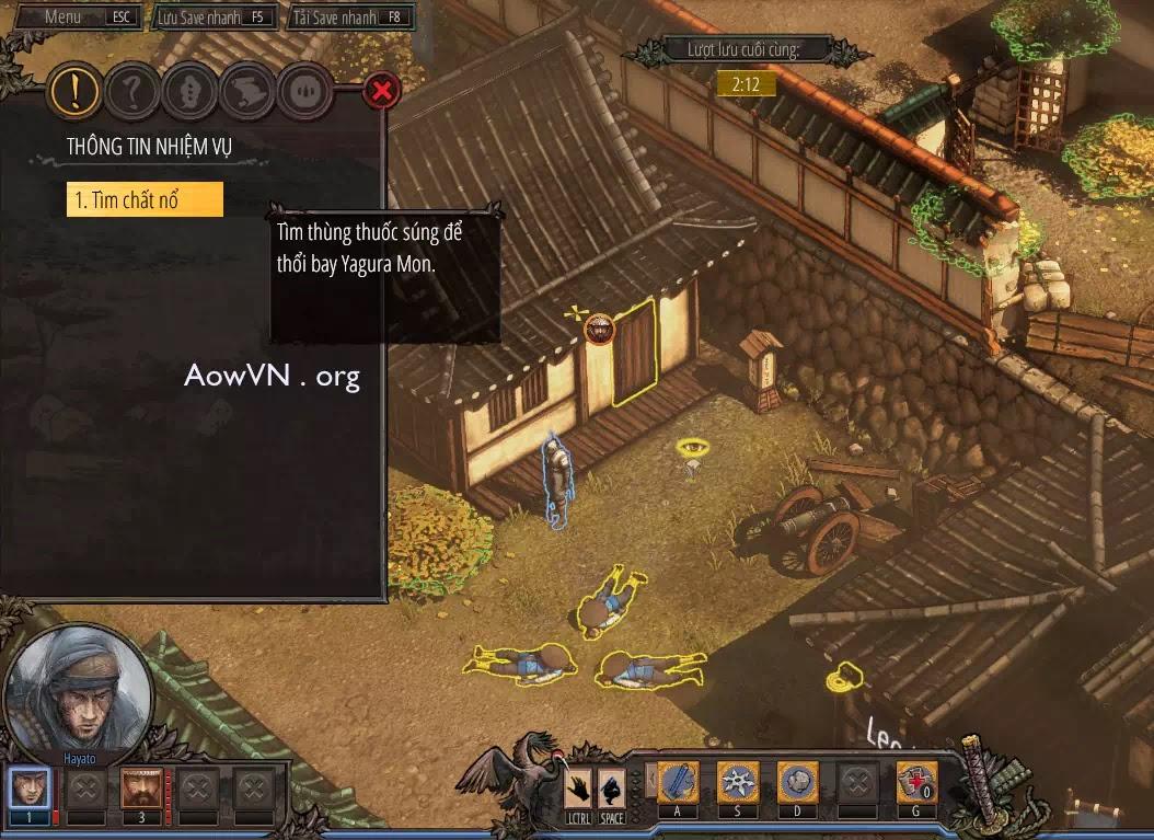 AowVN.org minz%2B%25286%2529 - [ PC 64Bit ] Shadow Tactics: Blades of the Shogun Việt Hoá | Siêu Phẩm Game tuyệt hay