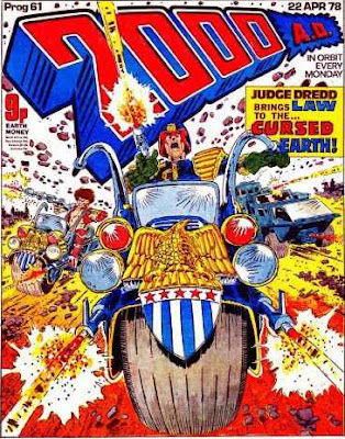 2000 AD Prog 61, Judge Dredd and the Cursed Earth