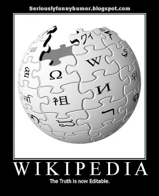 Wikipedia - The truth is now editable!