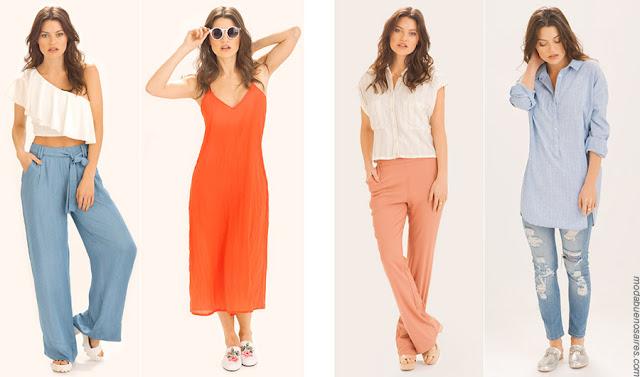 Moda primavera verano 2018 ropa de mujer. Moda ropa de mujer verano 2018.