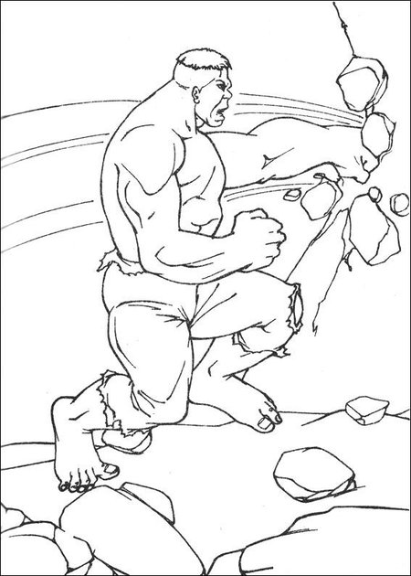 Hulk coloring book pages ~ Hulk - Avengers Coloring Pages >> Disney Coloring Pages