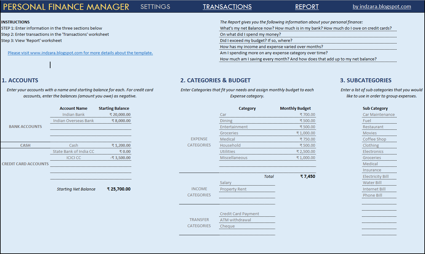 Financial Templates. financial statements free financial statement ...
