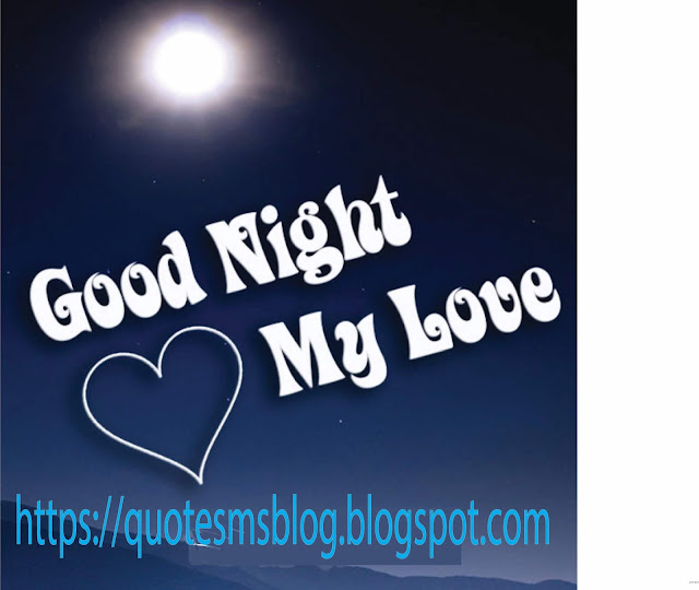 Quote Sms and Message Blog: Love good nite