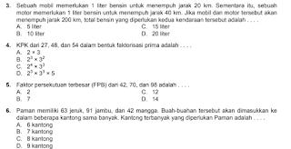 SOal matematika USBN baru