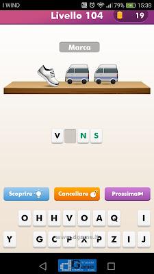 Emoji Quiz soluzione livello 104