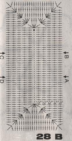 Сумка крючком - схема и описание.