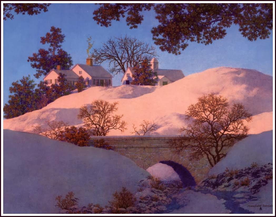 MAXFIELD PARRISH 1870-1966 ~ Landscapes 1931-1961 | Null ...