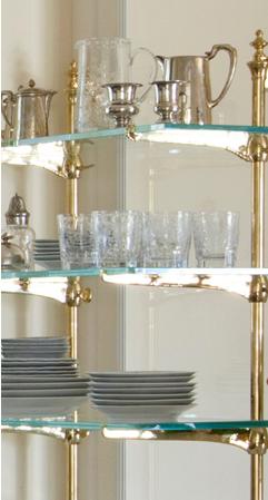 Coffee Bar Shelf Open Shelving