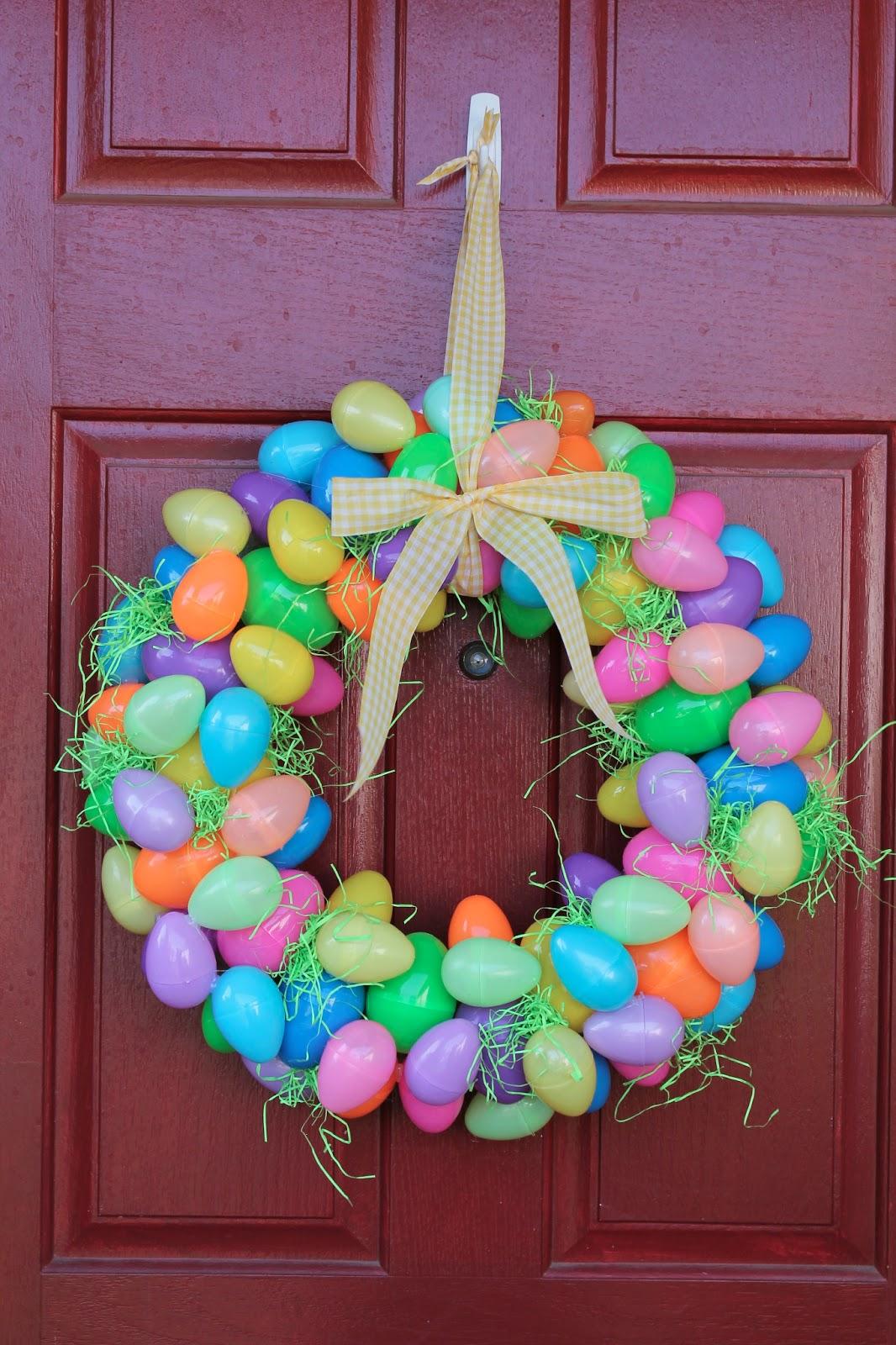 Easter Egg Wreath Dollar Tree Diy