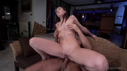 Mina K in Anal Training - 21 Sextury