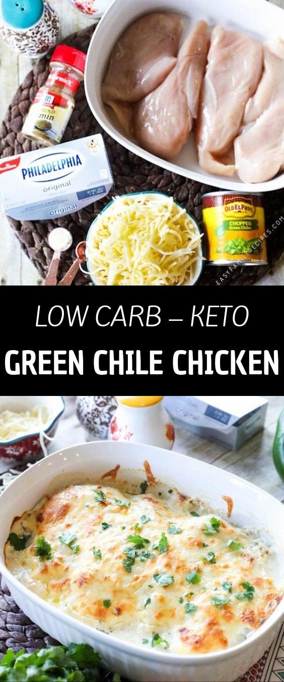 Keto Green Chile Chicken