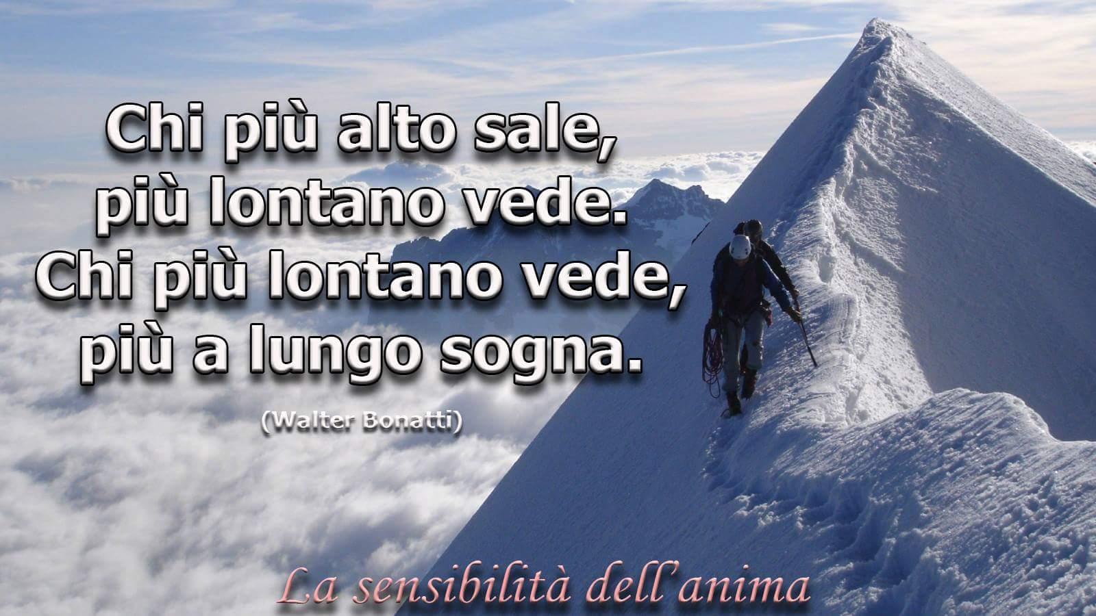 scalare una montagna