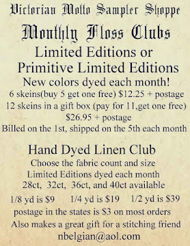 Monthly Floss and Linen Clubs