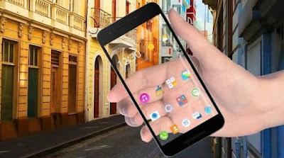 Cara Membuat Layar HP Android Jadi Transparan