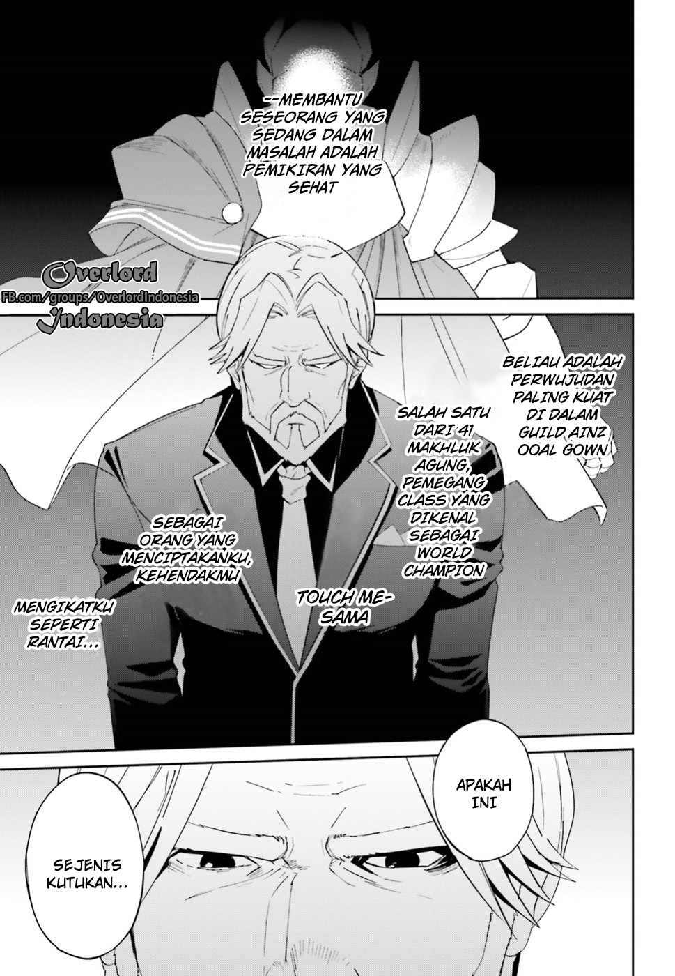 Overlord chapter 33 Bahasa Indonesia