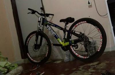 Ladrão rouba Bicicleta de Funcionário da Padaria KRILL em Registro-SP neste 28/06