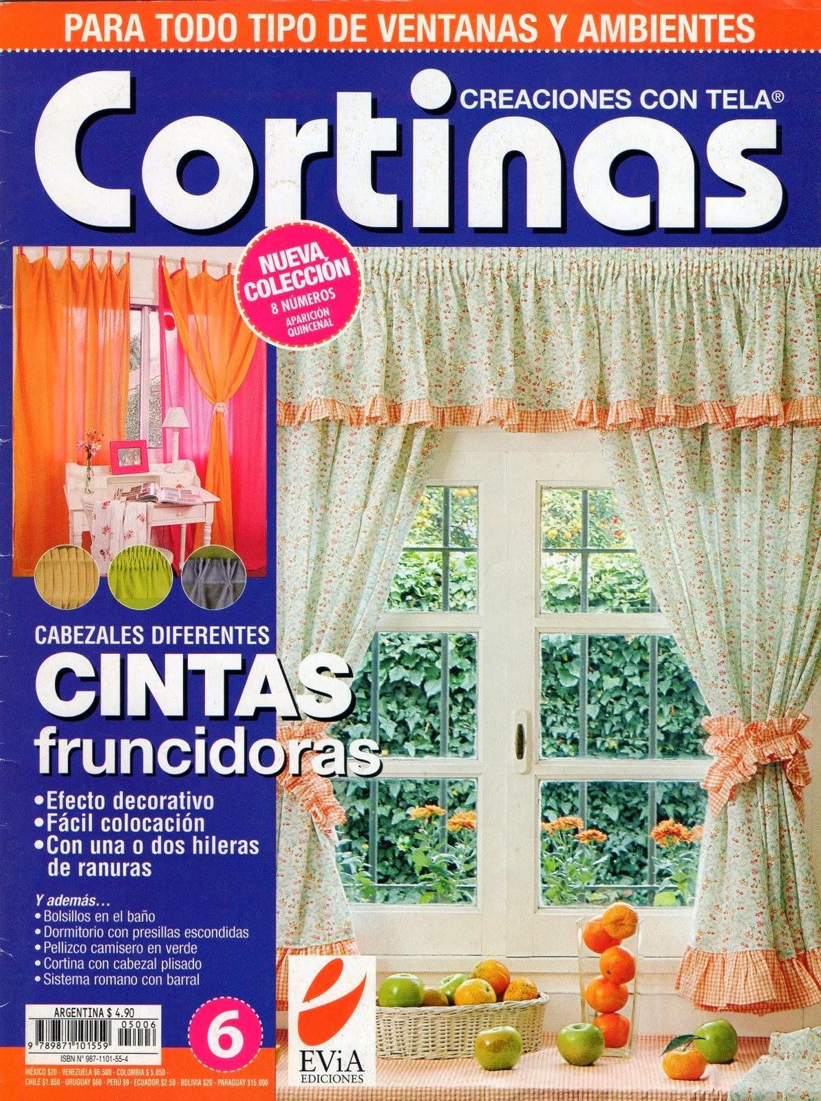 Como hacer cortinas paso a paso revistas de manualidades for Como hacer cortinas para cocina