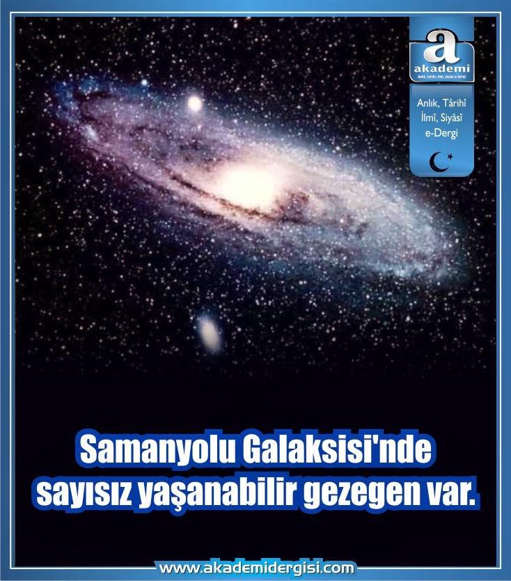 astronomi - uzay bilimi, samanyolu galaksisi, uzayda hayat var mı,
