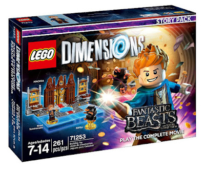 TOYS : JUGUETES - LEGO Dimensions  71253 Animales fantasticos y donde encontrarlos : Story Pack Newt Scamander & Niffler  Fantastic Beasts and Where to Find Them  Figuras - Muñecos - Videojuegos | Película 2016  Piezas: 261 | Edad: 7-14 años  Comprar en Amazon España & buy Amazon USA