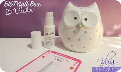 BIOTYfull Box de Février - sérum gaïna