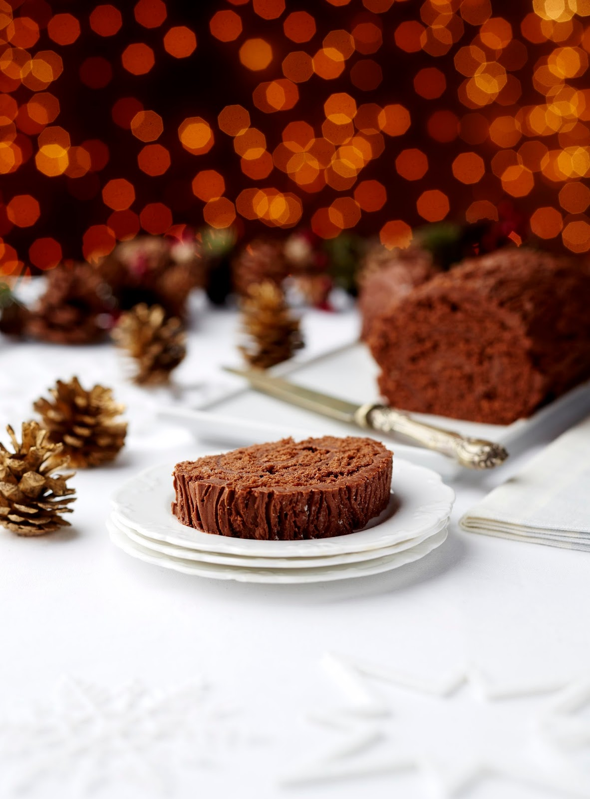 Delicious Yule Log Dairy And Gluten Free