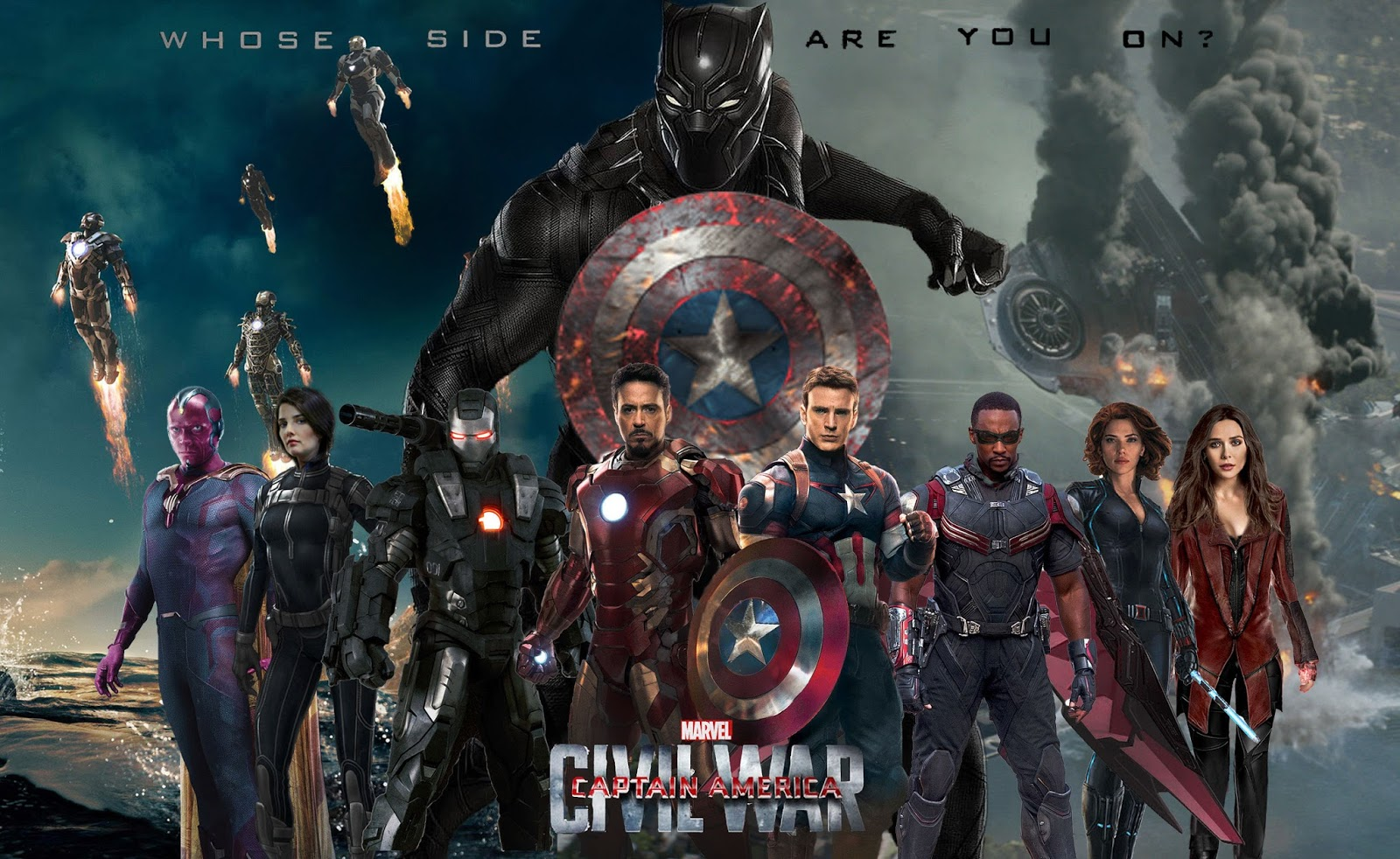 Captain America Civil War 4k: Full Hd Wallpaper: Captain America Civil War Wallpaper