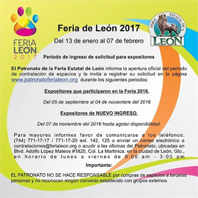 feria león 2017