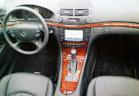 interior Mercedes Benz E320 CDI