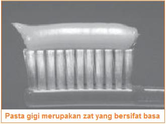 Contoh basa yaitu pasta gigi - sifat-sifat basa