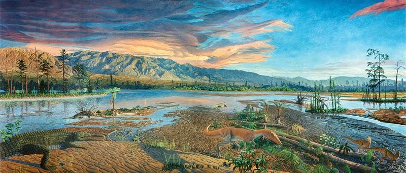 Período Triássico (245 milhões de anos)
