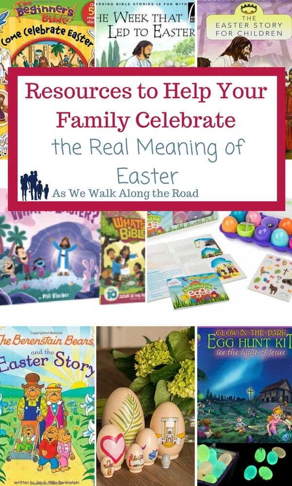 Activities for celebrating the real meaning of Easter