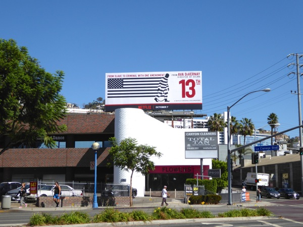 13th documentary billboard