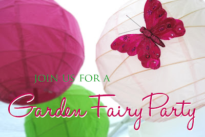 {REAL PARTIES} Garden Fairy Birthday!