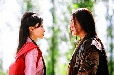 ไซซีกับฟ่านหลีในภาพยนต์มหาศึกจ้าวแผ่นดิน