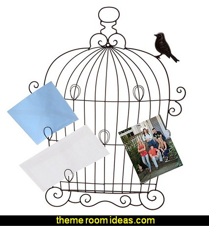 Birdcage Wall Photo Collage