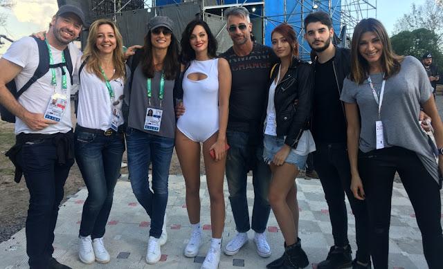 Oriana Sabatini la rompió en los Juegos Olímpicos con una invitada especial en La Plata