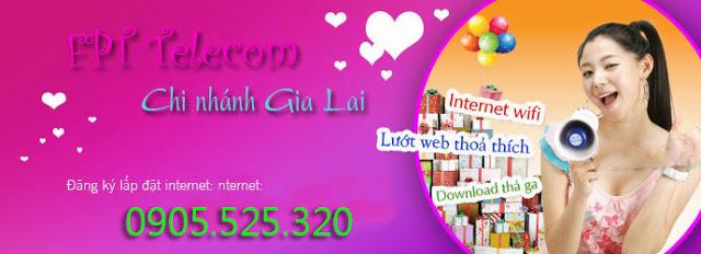 Lắp đặt internet fpt phường Hoa Lư, Pleiku