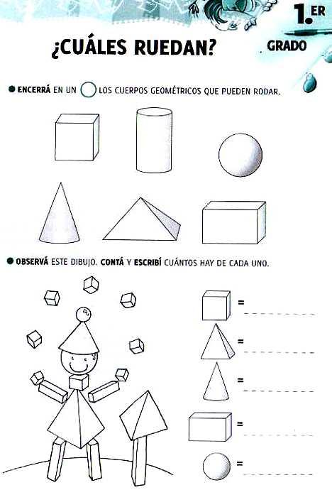 Aula Seño Sory Cuerpos Geométricos Actividades