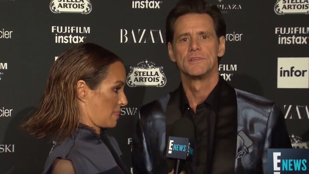 "Jim Carrey's Weird But Fascinating Interview - ""We are a field of energy ..and I don't care"""
