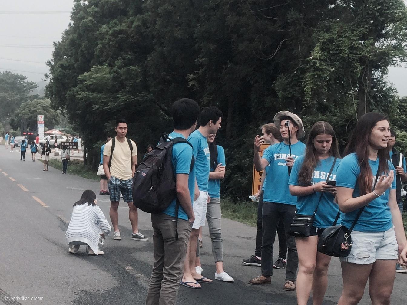 South Korea, Jeju Island, Yonsei University, YISS 2014, Mysterious Road