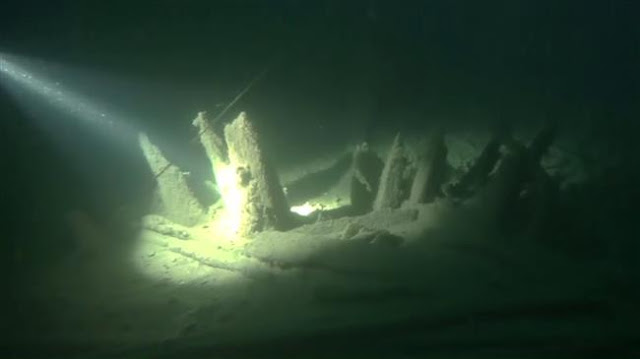Well-preserved Roman ship found off Crimean coast